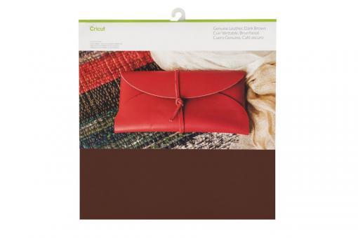Cricut Genuine Leather Dark Brown 30,5 cm x 30,5 cm, 12 Zoll x 12 Zoll