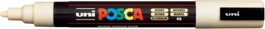 Marker UNI POSCA PC-5M 1,8mm-2,5mm elfenbein