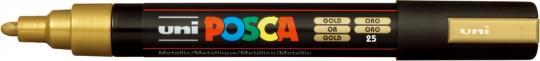 Marker UNI POSCA PC-5M 1,8mm-2,5mm gold