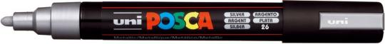 Marker UNI POSCA PC-5M 1,8mm-2,5mm silber
