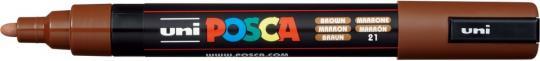 Marker UNI POSCA PC-5M 1,8mm-2,5mm braun