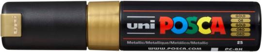Marker UNI POSCA PC-8K 8mm gold