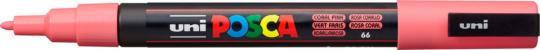 Marker UNI POSCA PC-3M 0,9mm-1,3mm korallenrosa