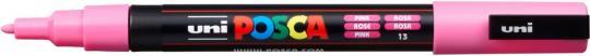 Marker UNI POSCA PC-3M 0,9mm-1,3mm pink
