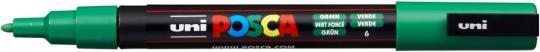 Marker UNI POSCA PC-3M 0,9mm-1,3mm grün