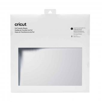 Cricut Foil Transfer Sheets Silber 30,5 cm x 30,5 cm, 12 Zoll x 12 Zoll
