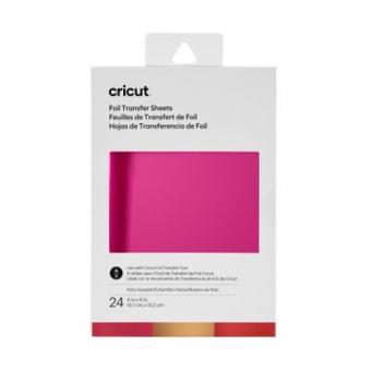 Cricut Foil Transfer Sheets Sampler 10,1 cm x 15,2 cm, Ruby Sampler