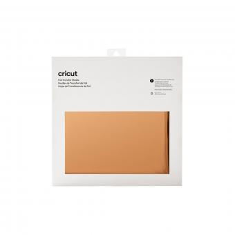 Cricut Foil Transfer Sheets RoseGold 30,5 cm x 30,5 cm, 12 Zoll x 12 Zoll