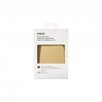 Cricut Foil Transfer Sheets Sampler 10,1 cm x 15,2 cm, Gold