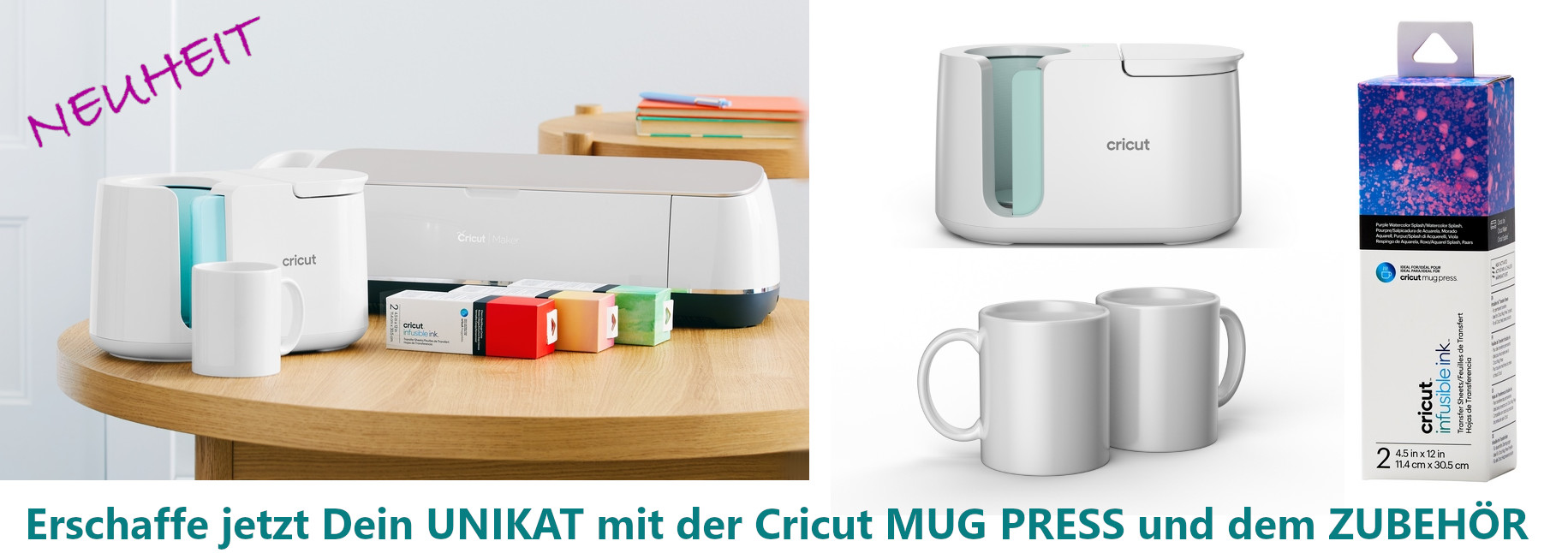 Cricut Neuheit MUG PRESS